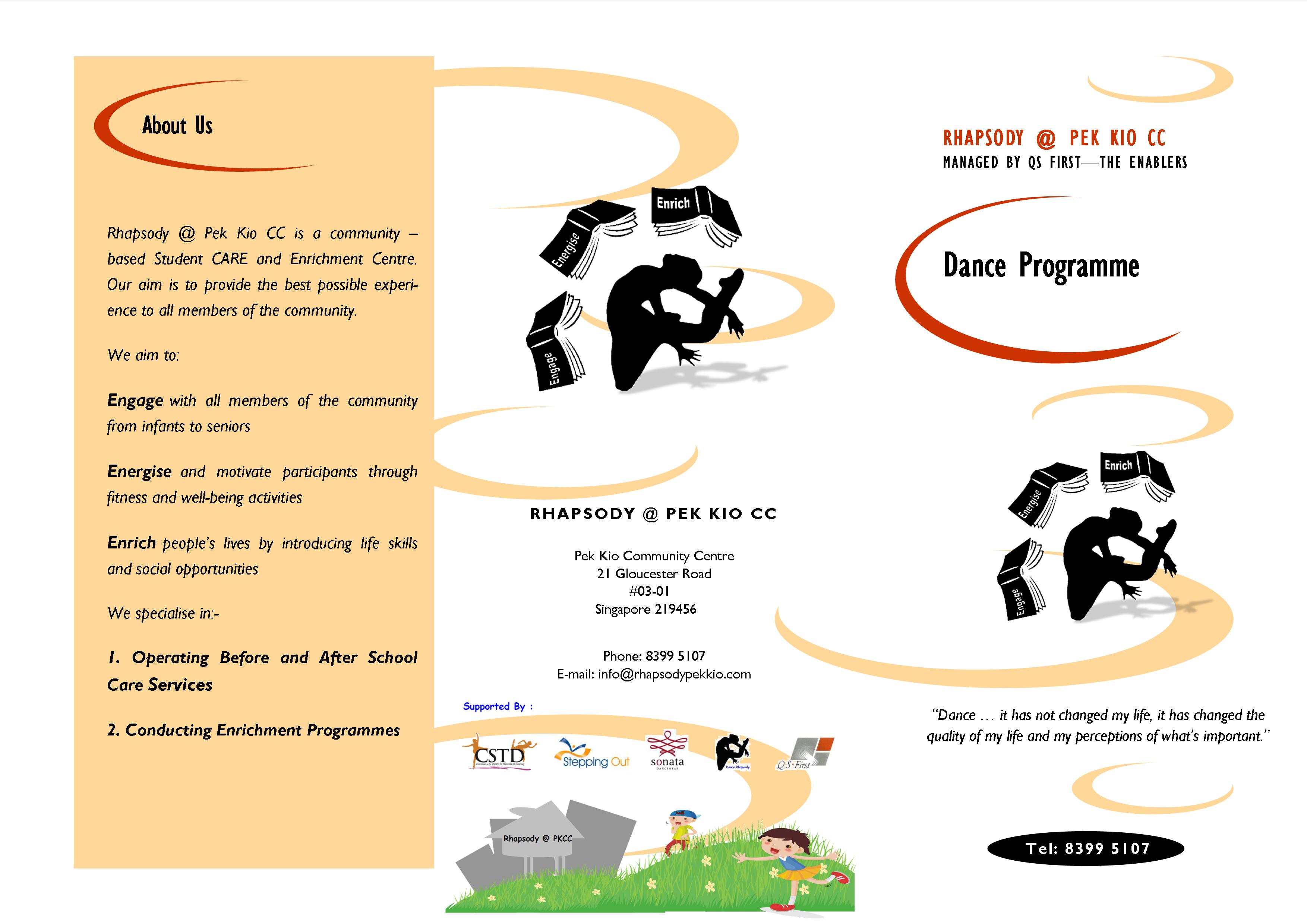 Generic Dance Flyer