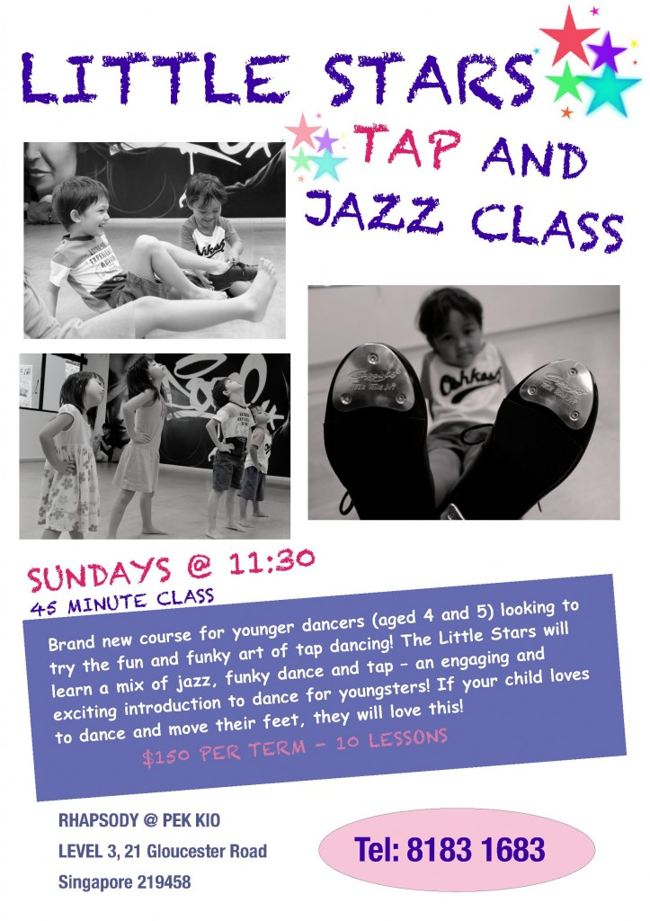 Jazz and Tap Dance for 4 year-olds